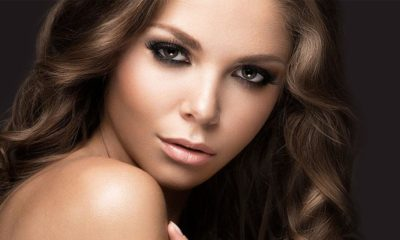 Sensual woman with deep eyes