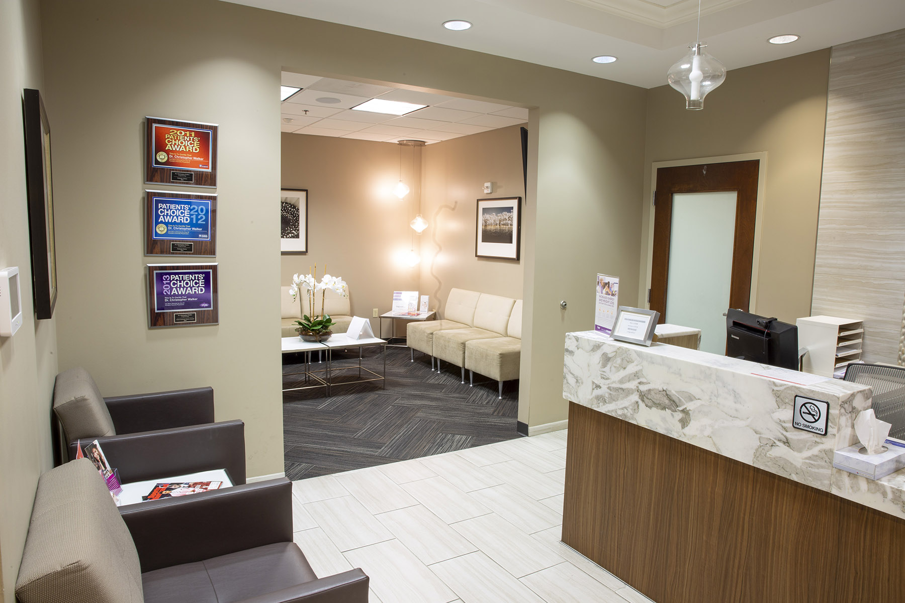 UroGyn Specialists - Reception Area